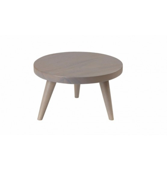 Graphite Large Round Stand