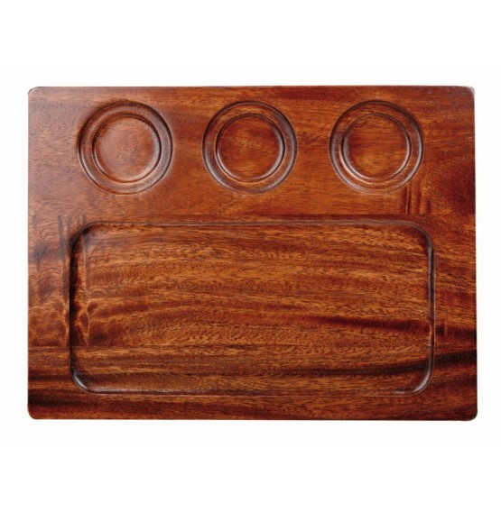 Square Wooden Deli Board
