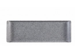 Granite Melamine Rectangular Buffet Tray