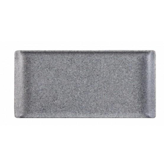 Granite Melamine Rectangular Buffet Tray