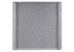 Granite Melamine Square Buffet Tray