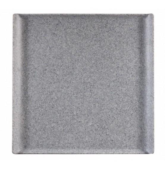 Granite Melamine Square Buffet Tray