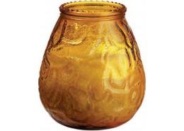 Duni Candle Glasses Venezia Amber/Honey
