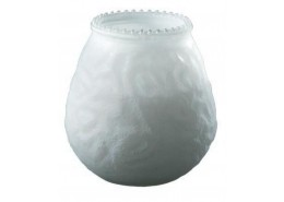 Duni Candle Glasses Venezia White