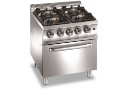 700 Series 4 Flexi-Burner Hob with Oven
