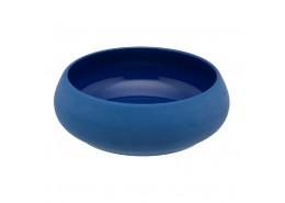 Gourmet Blue Round Casserole