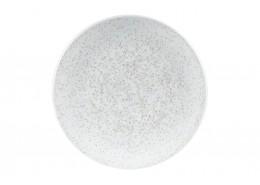 Menu Shades Caldera Chalk White Coupe Plate