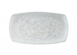 Menu Shades Caldera Chalk White Large Rectangular Plate