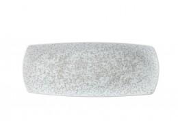 Menu Shades Caldera Chalk White Medium Rectangular Plate