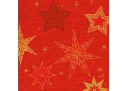 Duni Star Stories Red Tissue Napkins 3ply