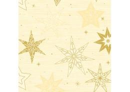 Duni Star Stories Cream Tissue Napkins 3ply