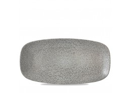 Evo Origins Natural Grey Chefs' Oblong Plate
