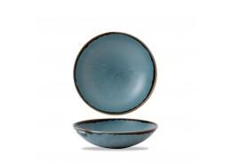 Harvest Blue Coupe Bowl