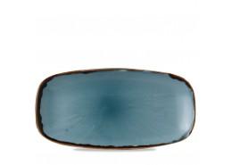 Harvest Blue Chefs' Oblong Plate