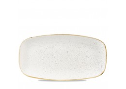 Stonecast Barley White Chefs' Oblong Plate No.4