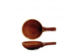 Rustics Simmer Brown Small Skillet Pan
