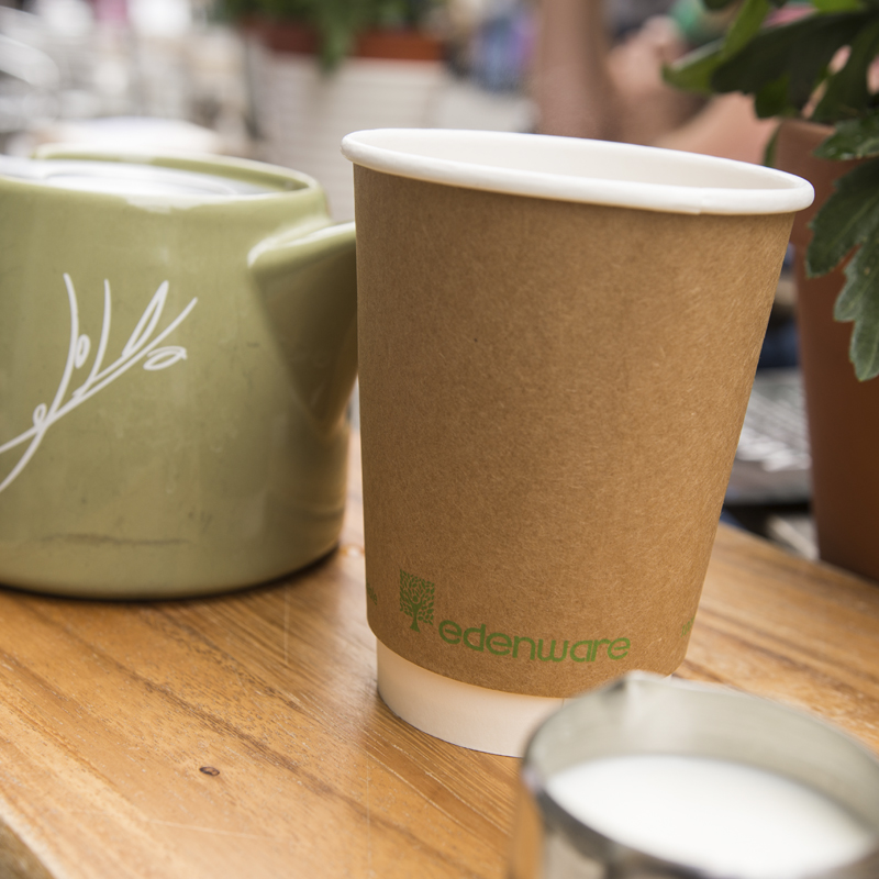 Compostable Hot Cups & Lids